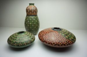 POTTERY HAND CRAFTED VOLCANIC CLAY SET for Sale in Indiantown, FL