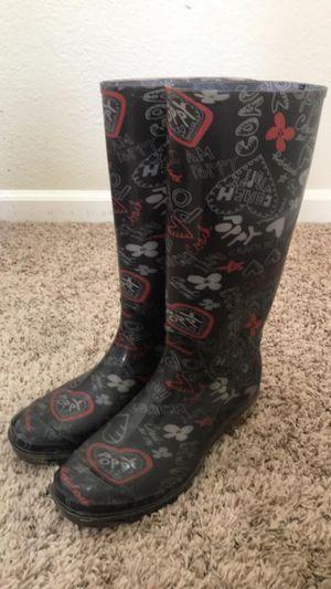 Coach rain boots for Sale in Fairfield, CA