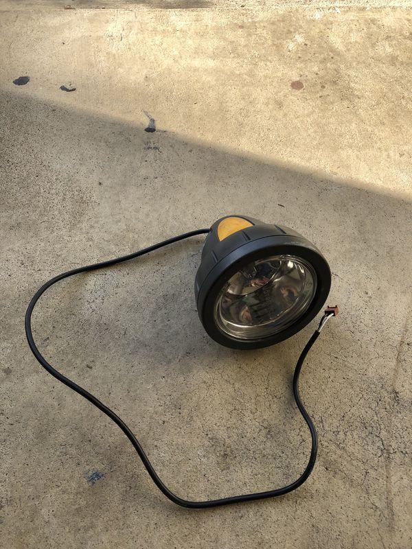 Lee Iacocca ebike bullet front light. 36v. Original part.