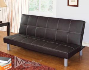 Great Deal Faux Leather Futon Only $ 149 for Sale in Philadelphia, PA