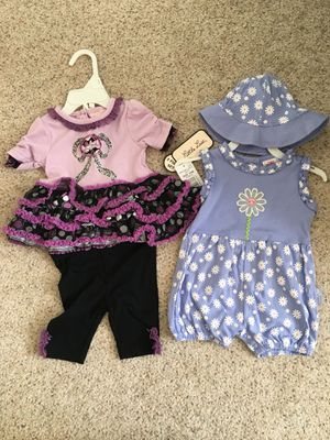 New 3-6 mon baby girl outfits for Sale in Shoreline, WA