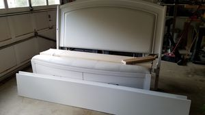 Queen Bed Frame with Storage Drawers for Sale in Springfield, VA
