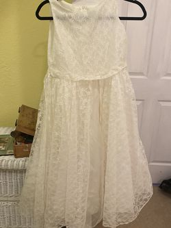 Girls Size 14 Flower Girl Dress for Sale in Pompano Beach,  FL