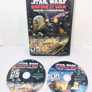 Star Wars Empire At War Forces Of Corruption PC Game for Sale in Pawtucket, RI