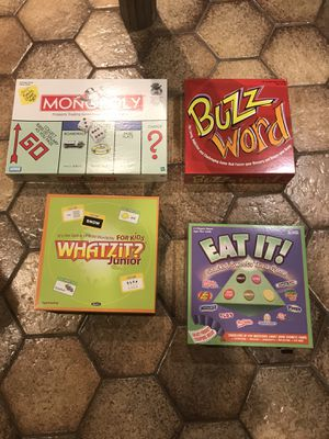 Board Games lot of 4 for Sale in East Greenwich, RI
