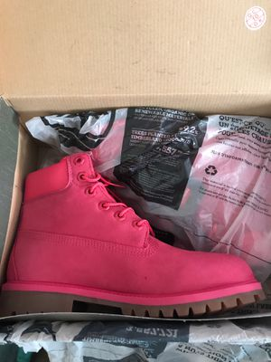 Pink Timberlands Size 5.5 for Sale in Bethesda, MD