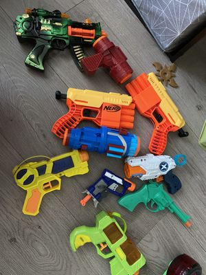 Toys. Nerf guns. Water guns. for Sale in Los Angeles, CA