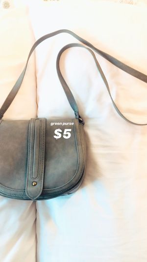 Green Purse for Sale in Fresno, CA