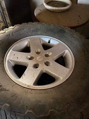 """Rims Rubicons 17"""" for Sale in Lincoln Acres, CA"""