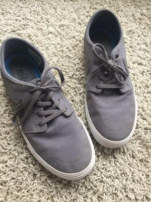 Nike SB Gray canvas shoes size 8 for Sale in Pittsburgh, PA