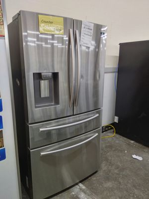 Samsung stainless Counter depth Refrigerator for Sale in Chino, CA