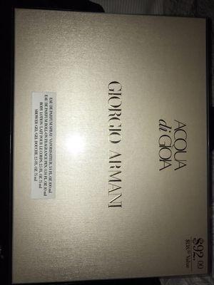 Brand New Giorgio Armani perfume set for Sale in Nashville, TN