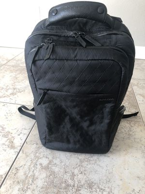 Incase icon Diamond wire Backpack Black original price $ 200 for Sale in Fullerton, CA