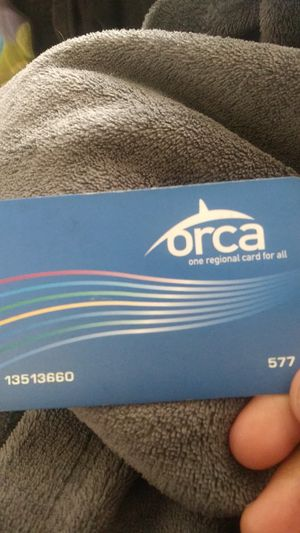 Orca pass tacoma school pass for Sale in Tacoma, WA