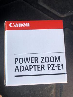 canon zoom adapter pz-e1 for Sale in Naperville, IL