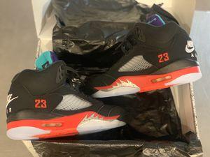 "DEADSTOCK Retro Jordan 5s ""top 3"" size 9 never before worn for Sale in Dania Beach, FL"