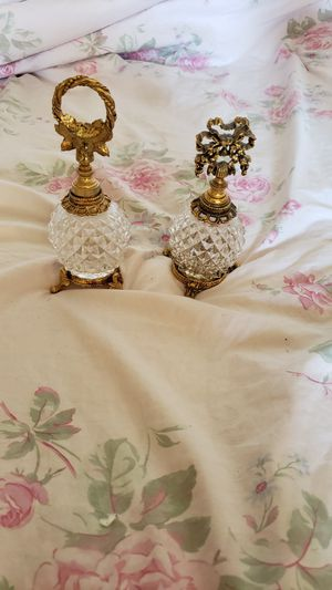 Antique gold perfume bottles. for Sale in Cypress, CA