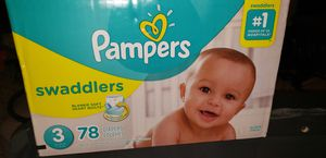 Pampers Swaddlers Size 3 Brand New for Sale in Peoria, AZ