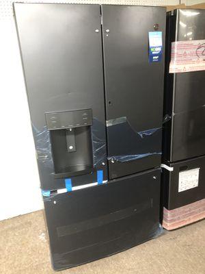 Ge black matte refrigerator $39 down for Sale in Houston, TX
