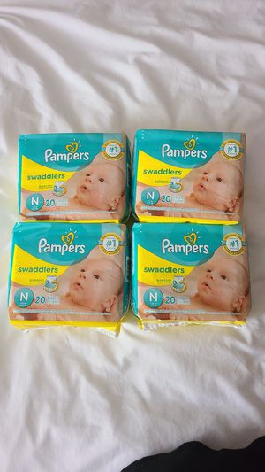 Pampers NB Baby Diapers for Sale in Grand Prairie, TX