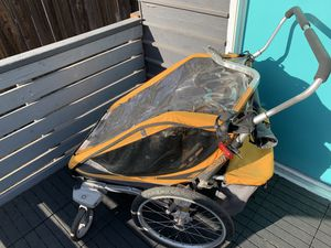Double Chariot Stroller with Bike Trailer Attachment for Sale in Alhambra, CA