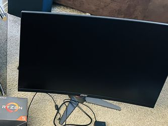 """MSI MAG27C 27"""" Monitor for Sale in Beaverton,  OR"""