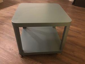 IKEA side / coffee table on casters for Sale in Bellevue, WA