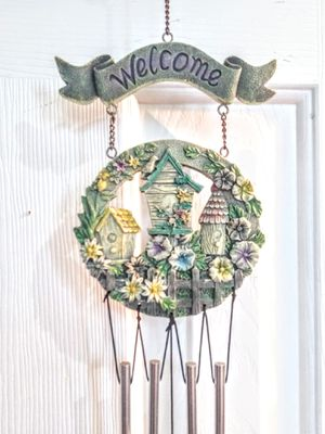 New Beautiful Birdhouse & Butterfly Wind Chime for Sale in Colorado Springs, CO