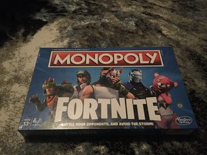 Fortnite monopoly for Sale in Bowie, MD