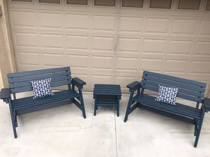 Outdoor furniture, outdoor porch front furniture, backyard patio furniture, SALE!! for Sale in Maricopa, AZ