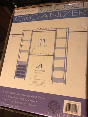 Expandable Closet Organizer for Sale in Germantown, MD