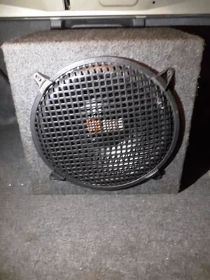 12 inch jl speaker with 500 mono amplifiers for Sale in Manassas, VA