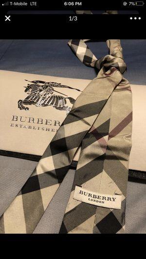 burberry tie for Sale in Phoenix, AZ
