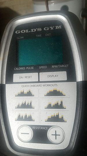 Golds Gym elliptical for Sale in New Haven, CT