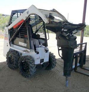 Bobcat dump truck grading hauling demolition artificial grass for Sale in Chino, CA