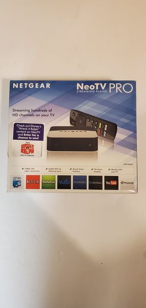 NeoTV pro streaming player for Sale in Glendale, AZ