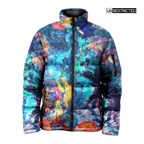 Paint A Picture Puffer Jacket