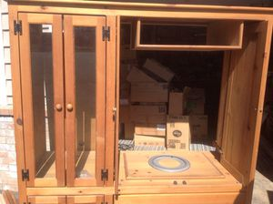 Knotty pine cabinet for Sale in Enumclaw, WA
