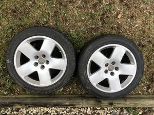 """Set of 4 18"""" Audi A8 oem wheels. Manufacturer part# 4e0601025m1h7 for Sale in Clinton, MD"""
