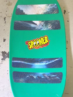 The Spooner Board Balance - Work Out Board - Surfboard Skate Board Style for Sale in Burien,  WA
