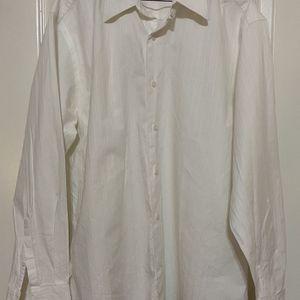 Men's White Brandini Dress Shirt Large for Sale in Round Rock, TX