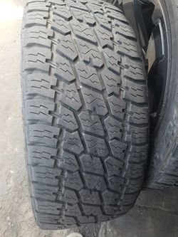 Nitto Grappler G2 ***Tires Only*** X4 305/45/22 like new! for Sale in San Diego,  CA