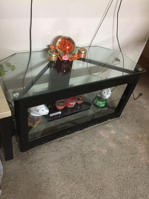 TV glass stand for Sale in Houston, TX