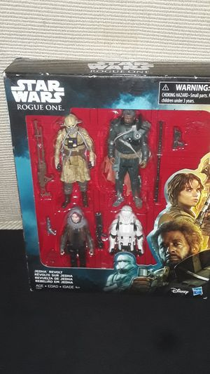 EARLY BLACK FRIDAY SALE STAR WARS ROGUE ONE 4 PACK NEW IN BOX for Sale in Providence, RI