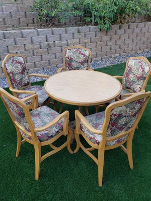 Pub table w/ 5 chairs for Sale in Escondido, CA
