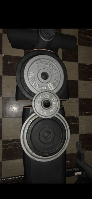 Olympic Weight Plates - 125 lbs for Sale in Strongsville, OH