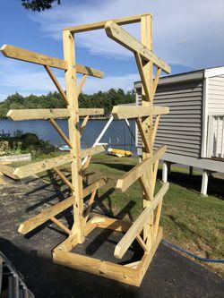 Canoe/kayak/paddle board/water sports storage solution. Custom built. for Sale in Salem,  NH