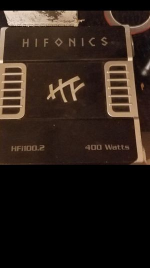 Hifonics amplifier $100 for Sale in Durham, NC