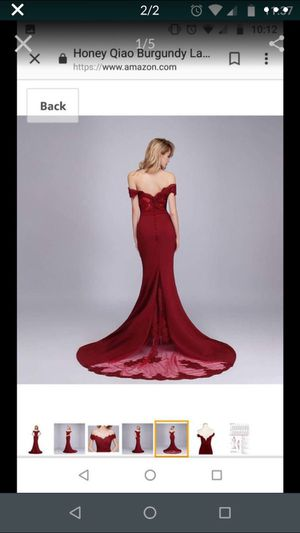 Burgundy evening dress for Sale in Duluth, GA