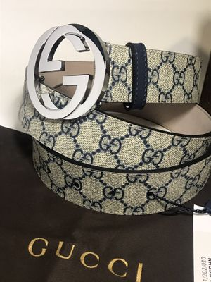 Gucci Blue GG Supreme Belt **XMAS SALE!! for Sale in Queens, NY